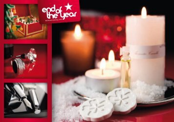 W eihnachtskatalog – end of the year 2010