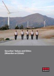 Securitas' Values and Ethics (Waarden en Ethiek)