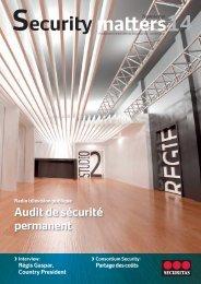 Audit de sécurité permanent - Securitas