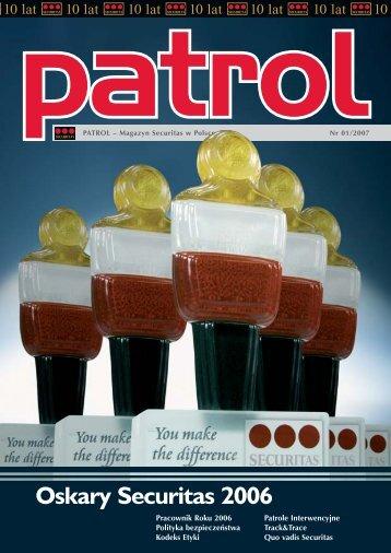 Magazyn Patrol 1/2007 - Securitas