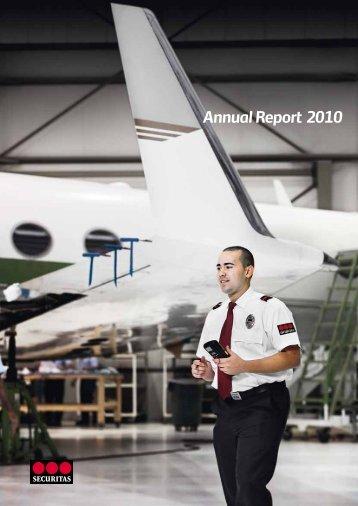 Annual Report 2010 - Securitas