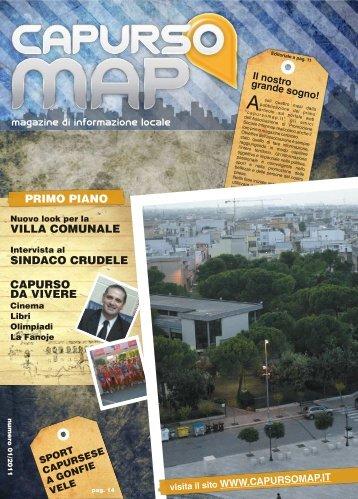 magazine di informazione locale - CapursoMap