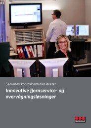 Innovative ernservice- og overvågningsløsninger - Securitas