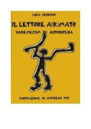 Il lettore a(r)mato - Pedro.it