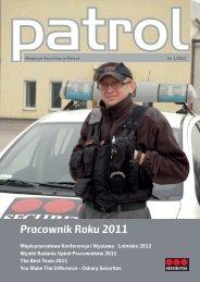 Magazyn Patrol 1/2012 - Securitas
