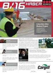 Çukurdere Altın Madeni Projesi - Securitas