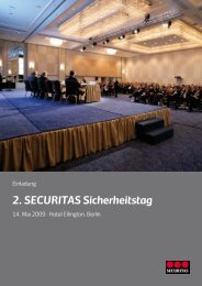 2. SECURITAS Sicherheitstag