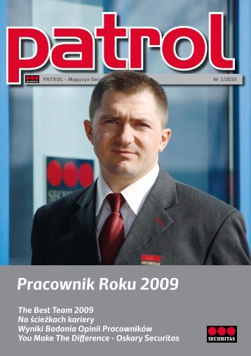 Magazyn Patrol 1/2010 - Securitas