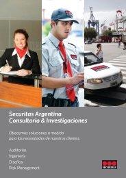Brochure Consultoria e Investigaciones - Securitas