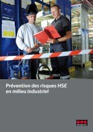 Prévention des risques HSE en milieu industriel - Securitas