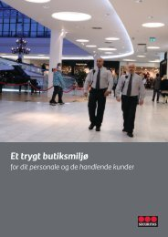Retail brochure - Securitas
