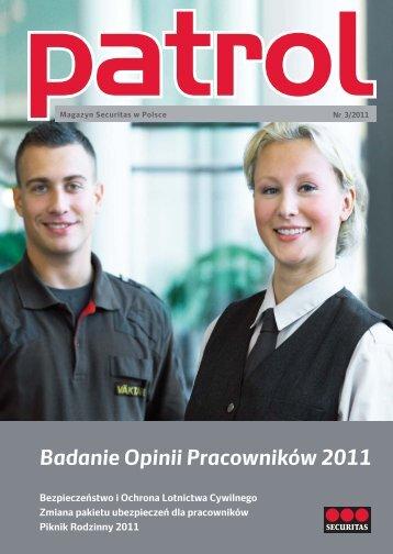Magazyn Patrol 3/2011 - Securitas
