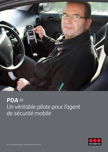 PDA (1) Un véritable pilote pour l'agent de sécurité mobile - Securitas