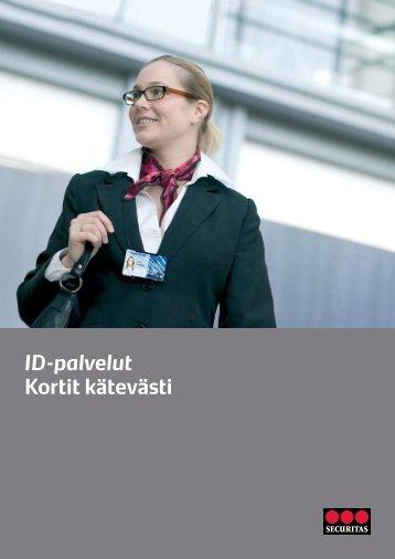 ID-palvelut Kortit kätevästi - Securitas
