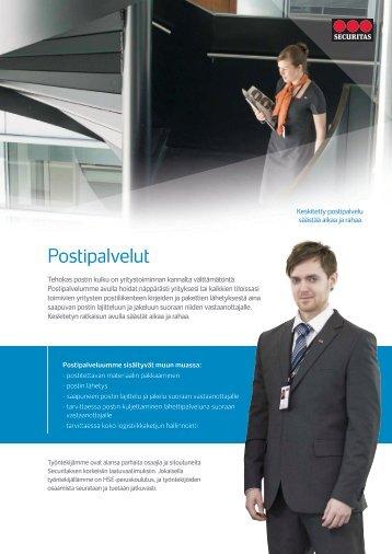 Postipalvelut - Securitas
