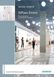 Download Produktkatalog SiPass Entro (546 kB)
