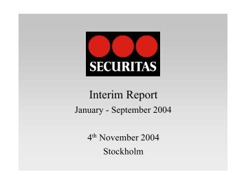 Interim Report Jan-Sep 2004.pdf - Securitas