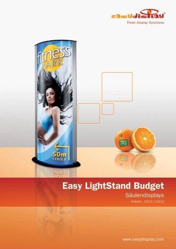 Easy Lightstand Budget - Easydisplay.com