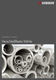 04 Verschleißfeste Stähle (151 KB) - Seeberger GmbH & Co. KG