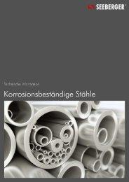 05 Korrosionsbeständige Stähle - Seeberger GmbH & Co. KG