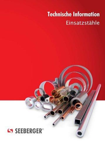 Technische Information - Seeberger GmbH & Co. KG