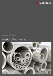26 Werkstoffnormung (189 KB) - Seeberger GmbH & Co. KG