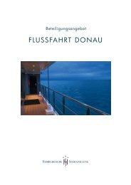 FLUSSFAHRT DONAU - Hamburgische Seehandlung