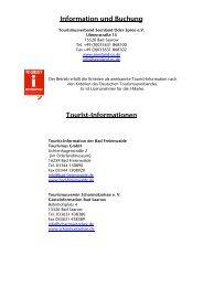 Information und Buchung - Tourismusverband Seenland Oder ...