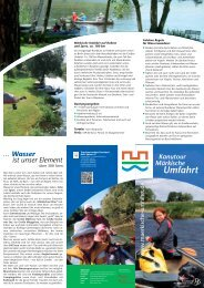 Flyer zum download - Tourismusverband Seenland Oder-Spree e.V.