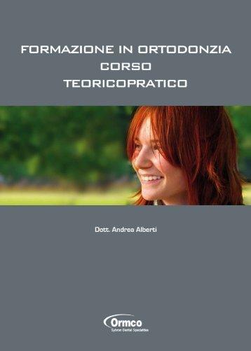 Scarica la Brochure del corso - Studio Ortodontico Andrea Alberti