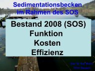 Sedimentationsbecken