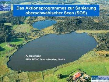 Kurzdaten - Aktionsprogramm Sanierung oberschwäbischer Seen