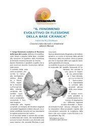 scarica articolo completo in pdf - Craniosacrale