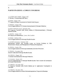 05 Corsi-Congressi (pdf, it, 110 KB, 7/9/09) - Surgery