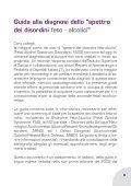 Guida alla diagnosi dello spettro dei disordini feto-alcolici - Page 5