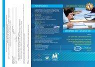 NOVEMBRE 2012 - GIUGNO 2013 INFORMAzIONI - Micerium