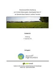 Artenschutzrechtliche Abschätzung - Seeon - Seebruck