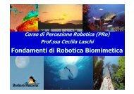 Fondamenti di Robotica Biomimetica - DidaWiki