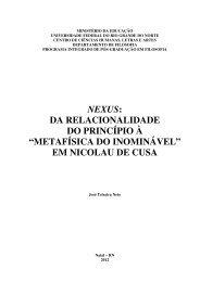 tese na íntegra - cchla - Universidade Federal do Rio Grande do Norte