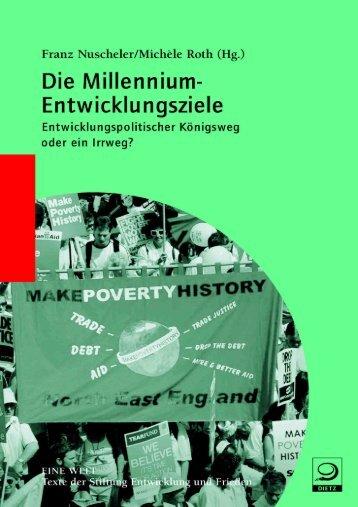 Die Millennium-Entwicklungsziele - sef