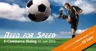 Need for Speed - dmc digital media center Gmbh