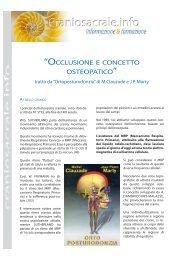 scarica il pdf ortoposturodonzia - Craniosacrale