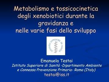 E. Testai - Istituto Superiore di Sanità