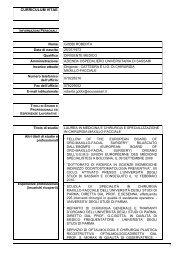 gobbi roberta - Azienda Ospedaliero Universitaria