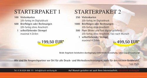Starterpaket 1 Starterpak