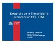 Juan Manuel Contreras, Secretario Ejecutivo, Comisión Nacional de ...