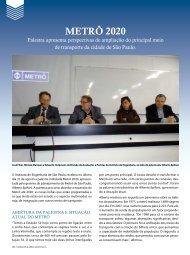 METRô 2020 - Revista Fundações & Obras Geotécnicas