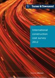 International construction cost survey 2012