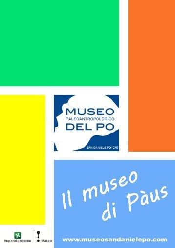 catalogo bassa risoluzione - Museo Paleoantropologico del Po ...