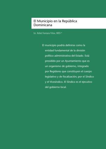 El Municipio en la República Dominicana - Atlas